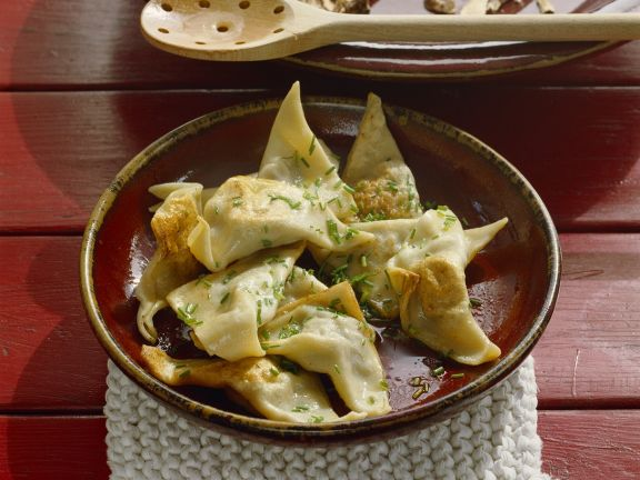 Dumplings with Cheese and Herb Filling