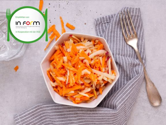 Easy Apple and Carrot Salad