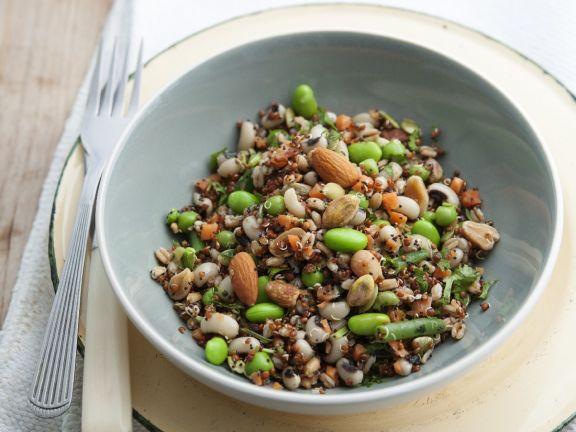 Edamame Bean and Grain Bowl