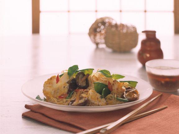 Egg Noodles with Vegetables