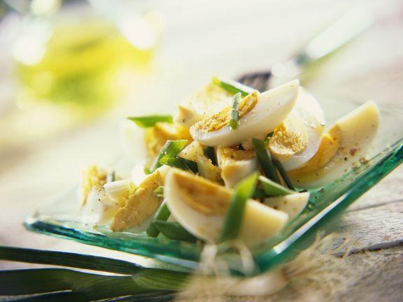 Egg Salad with Apple Cider Vinaigrette