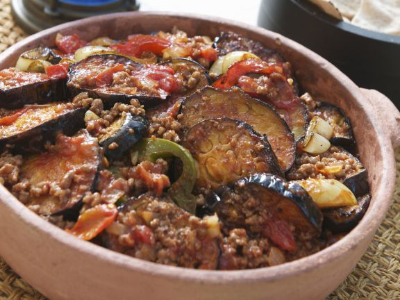 Greek Aubergine Bake