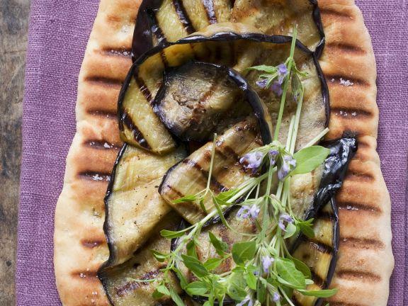 Eggplant Flatbread