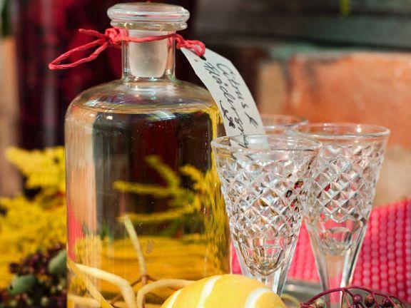Elderberry Lemon Liqueur
