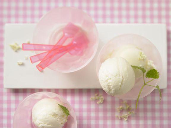 Elderflower-Yogurt Ice