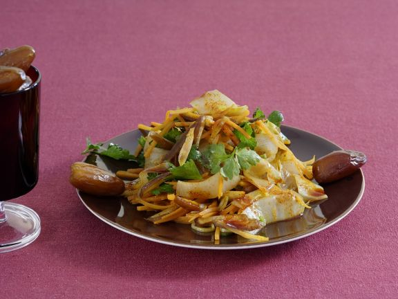 Endive and Carrot Salad