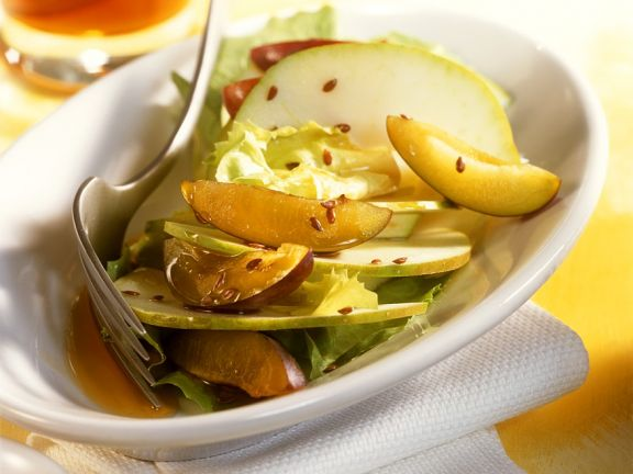 Chicory and Stone Fruit Salad