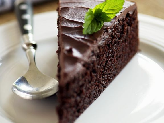 English Chocolate Cake with Beer