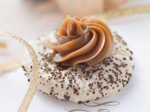 Espresso Meringue Cookies