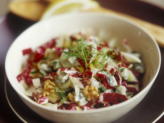 Fennel, Radicchio and Blue Cheese Salad