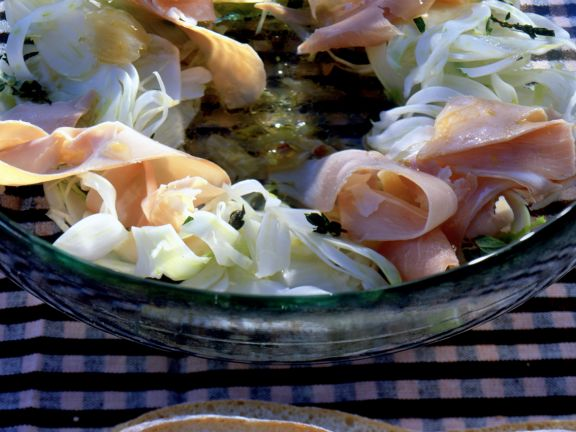 Fennel Salad with Ham
