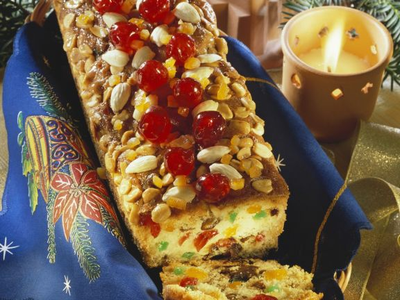 Festive Fruit and Nut Loaf