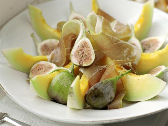 Fig, Melon and Prosciutto Platter