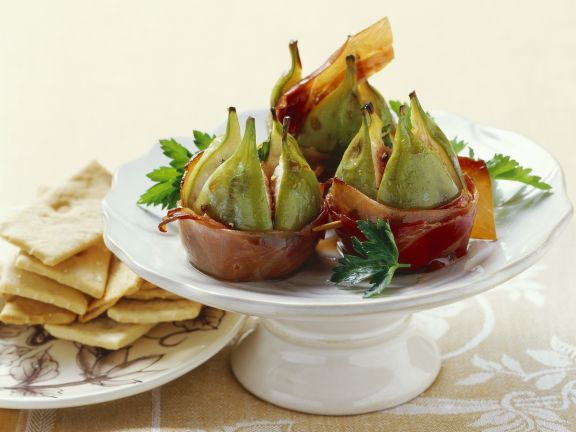 Figs with Prosciutto and Marsala
