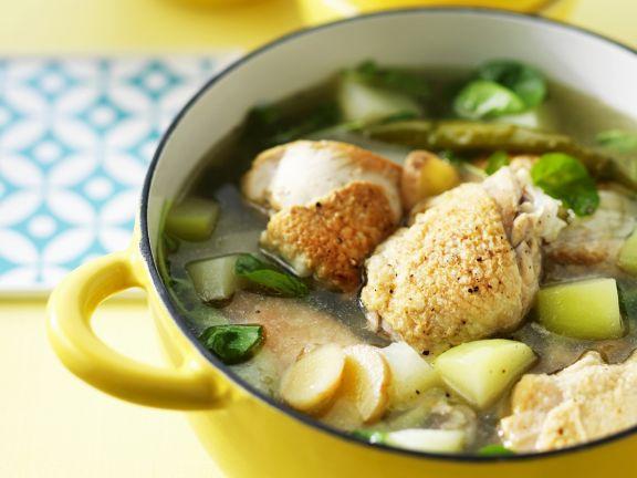 Filipino Style Chicken Soup