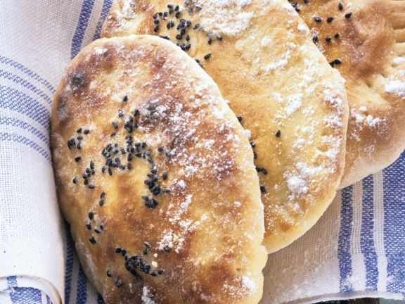 Filled Naan Breads