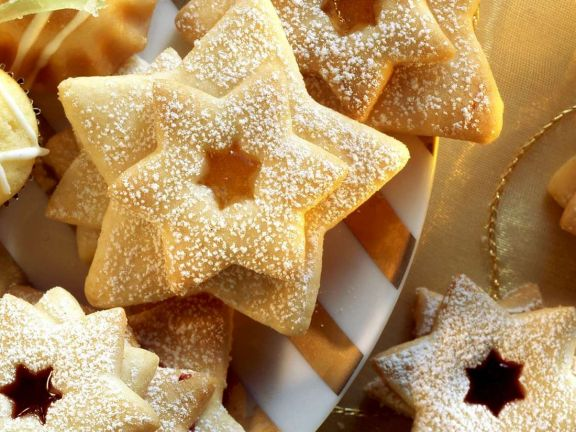 Filled Star Cookies
