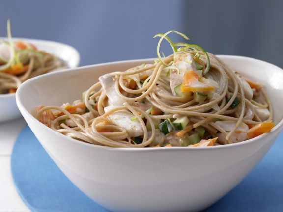 Fish and Coconut Noodles
