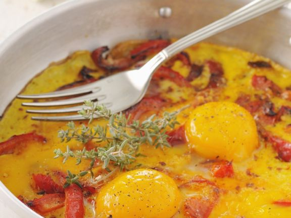 Fish and Egg Skillet