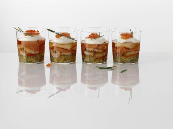 Fish and Shrimp Gelatins