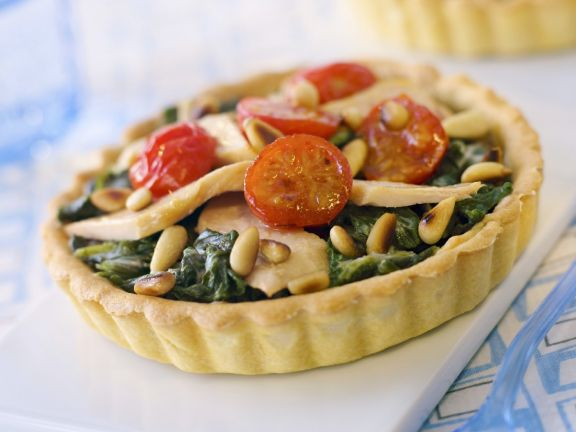 Fish and Vegetable Tartlets