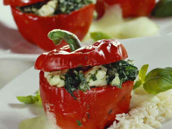 Fish-filled Peppers