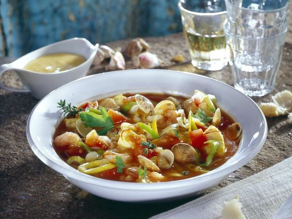 Fish Stew with Noodles