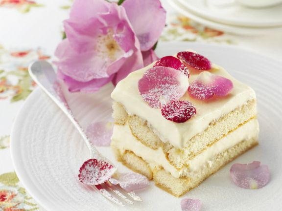 Floral Italian Pudding