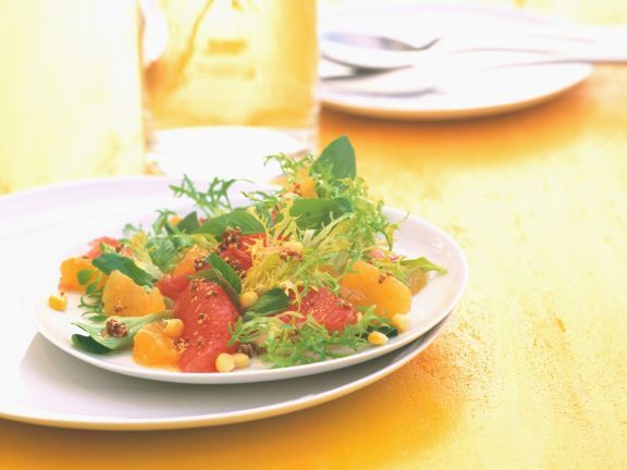 Florida Salad with Oranges and Grapefruits