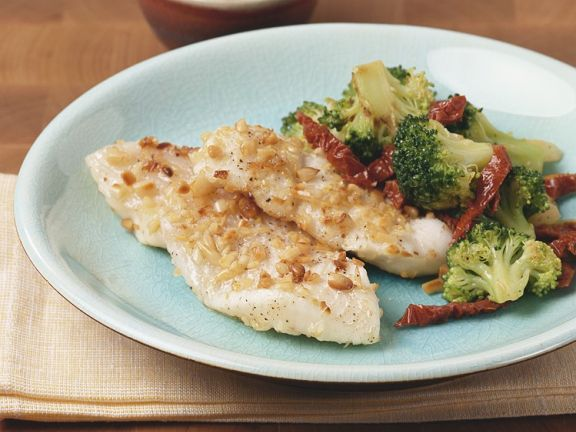 Flounder with Vegetables