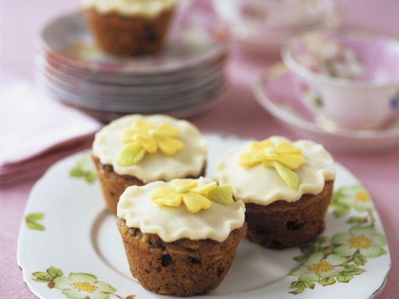 Flowery Individual Cakes