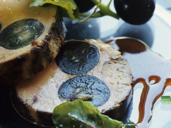 Foie Gras with Grapes