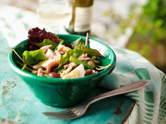 French Salad with Tuna