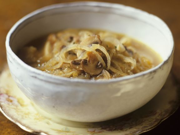 French Sliced Onion Soup