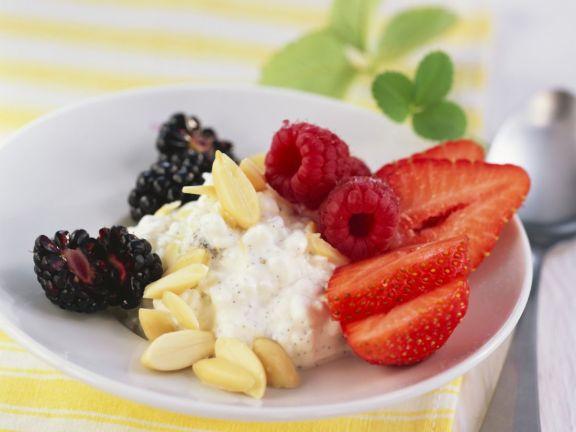 Fresh Berries and Soft Cheese