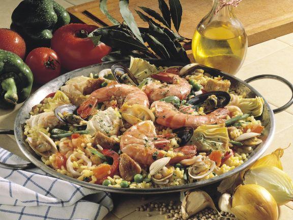 Fresh Paella
