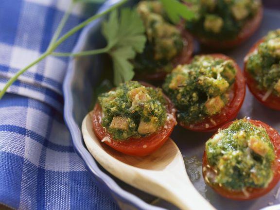 Fresh Tomato Au Gratin
