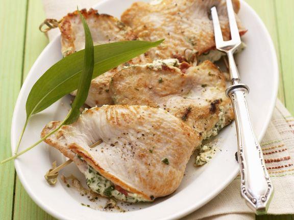 Fresh Tuna Steaks with Melon Salsa