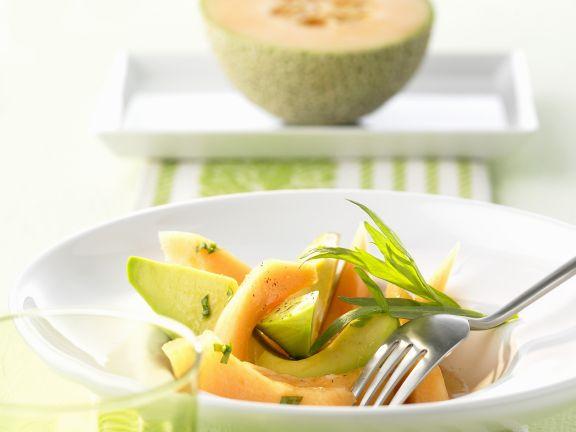 Fruit and Avocado Plate