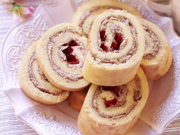 Fruit and Cheese-Filled Jellyroll