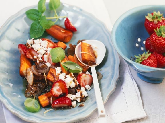 Fruit and Vegetable Salad with Feta