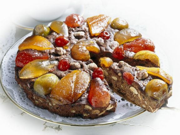 Fruit Cake with Candied Fruit