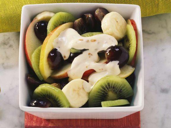 Fruit Salad with Mascarpone