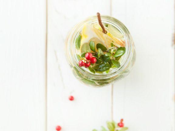 Fruit Tea with Honey