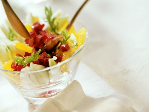 Fruity Beet and Fennel Salad