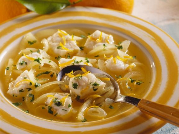 Fruity Monkfish Soup