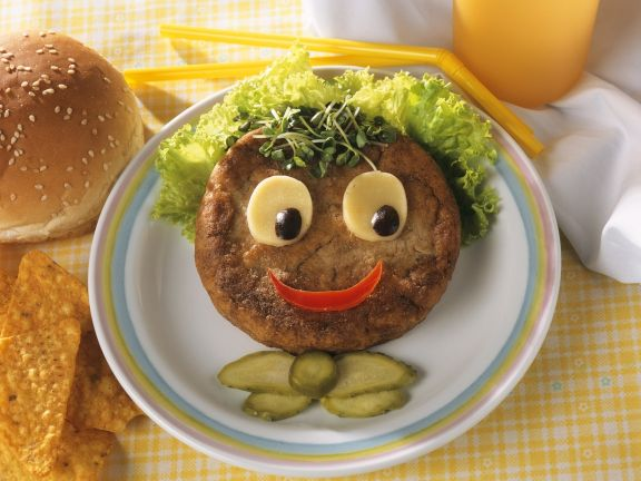 Funny Kids Hamburger