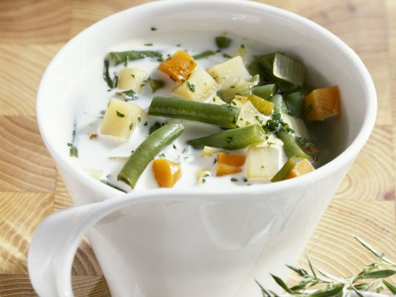 German Creamy Green Bean Soup
