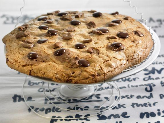 Gigantic Chocolate Biscuit