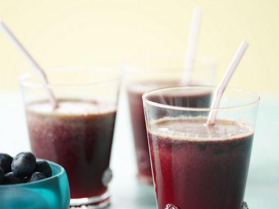 Ginger Blueberry Juice